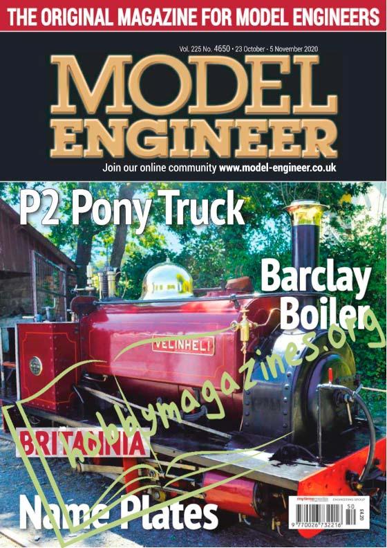 Model Engineer 4650 - 23 October 2020