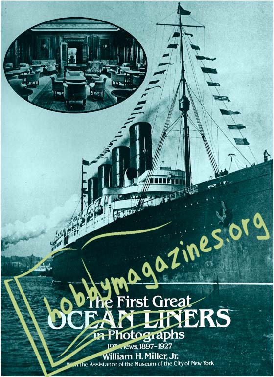 The First Great Ocean Liners