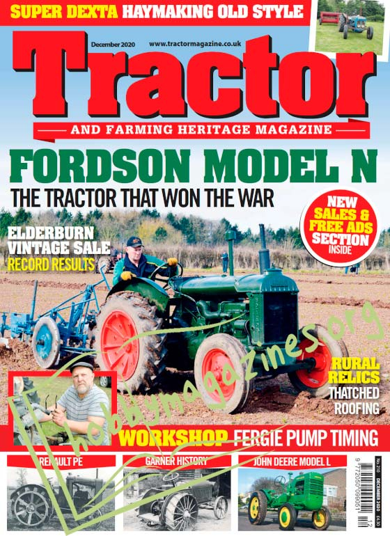 Tractor and Farming Heritage Magazine - December 2020