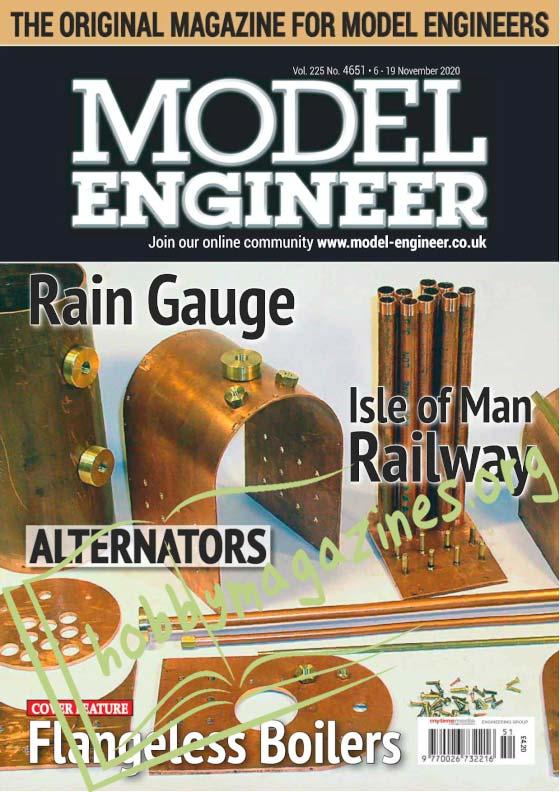 Model Engineer 4651 - 6 November 2020