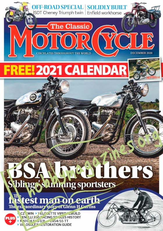 The Classic MotorCycle - December 2020