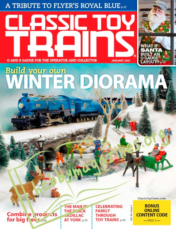 Classic Toy Trains - January 2021