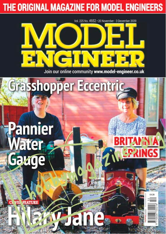 Model Engineer - 20 November 2020