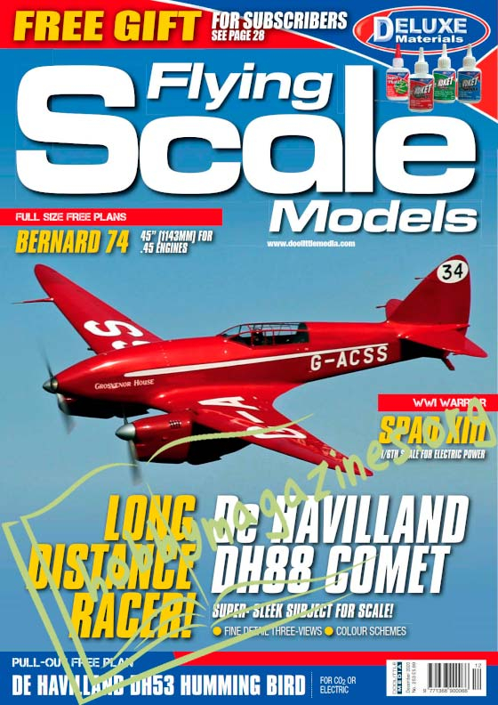 Flying Scale Models - December 2020