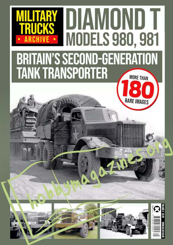 Military Trucks Archive 3 - Diamond T Models 980,981