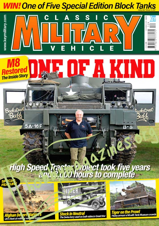 Classic Military Vehicle - December 2020