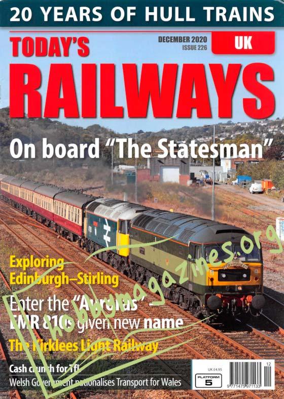 Today's Railways UK - December 2020