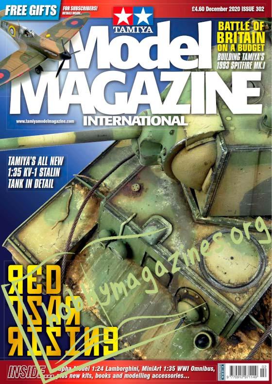 Tamiya Model Magazine International - December 2020