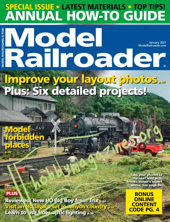 Model Railroader - January 2021