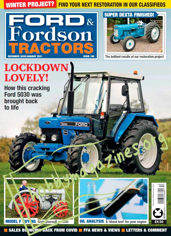 Ford & Fordson Tractor - December/January 2021