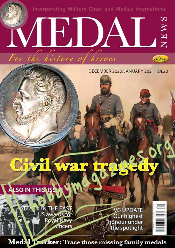 Medal News - December/January 2021