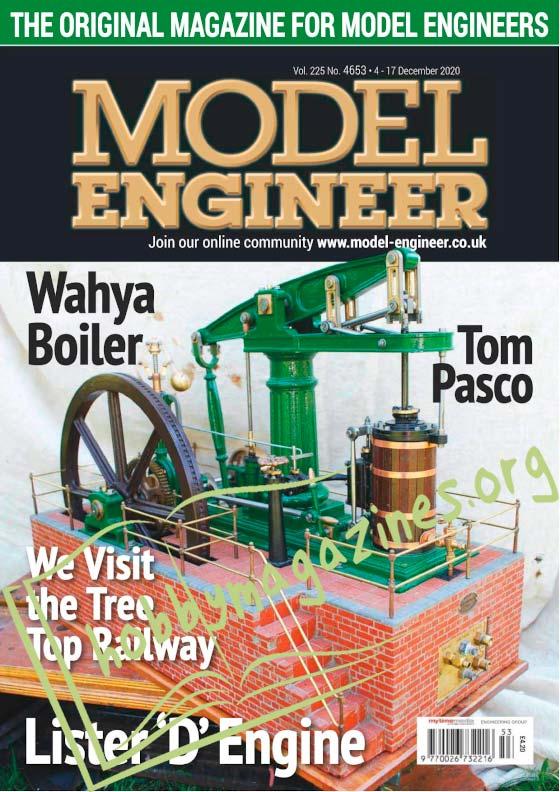 Model Engineer 4653 - 4 December 2020