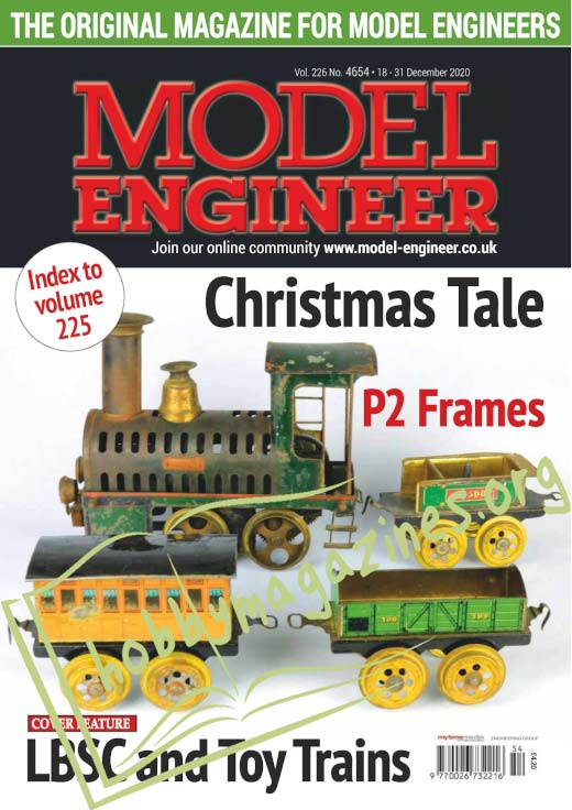 Model Engineer 4654 - 18 December 2020