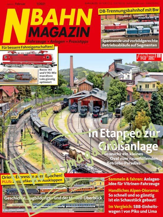 N Bahn Magazin – Januar/Februar 2021