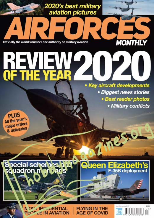 Air Forces Monthly - January 2021