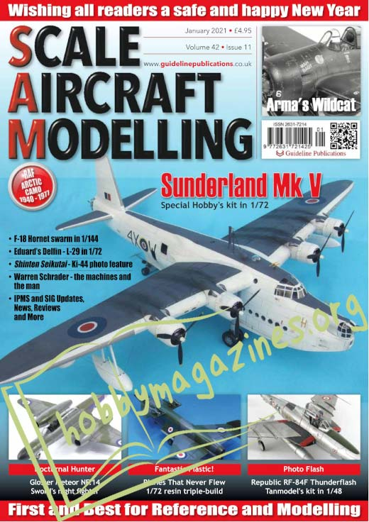Scale Aircraft Modelling - January 2021