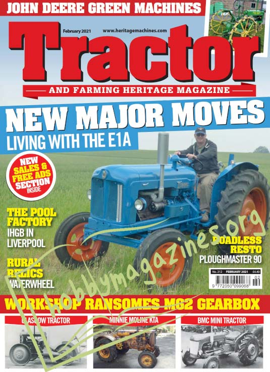 Tractor & Farming Heritage Magazine - February 2021