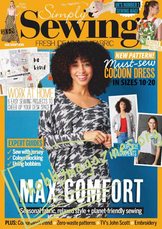 Simply Sewing Issue 77