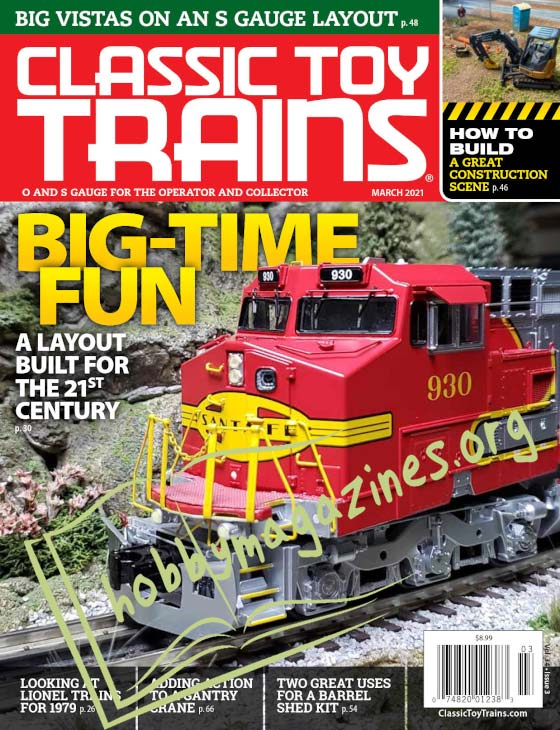 Classic Toy Trains - March 2021