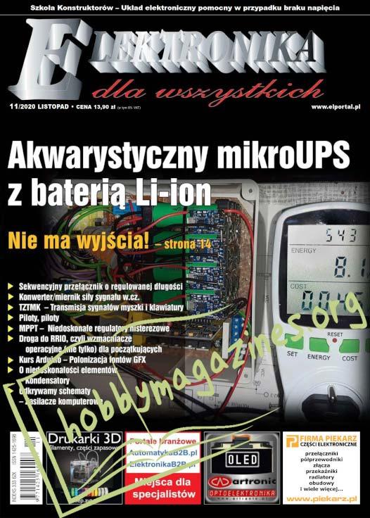 Elektronika dla Wszystkich 2020-11
