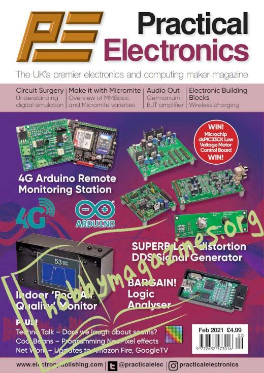 Practical Electronics - February 2021