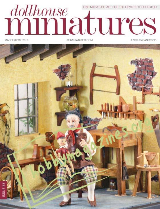 Dollhouse Miniatures - March/April 2019