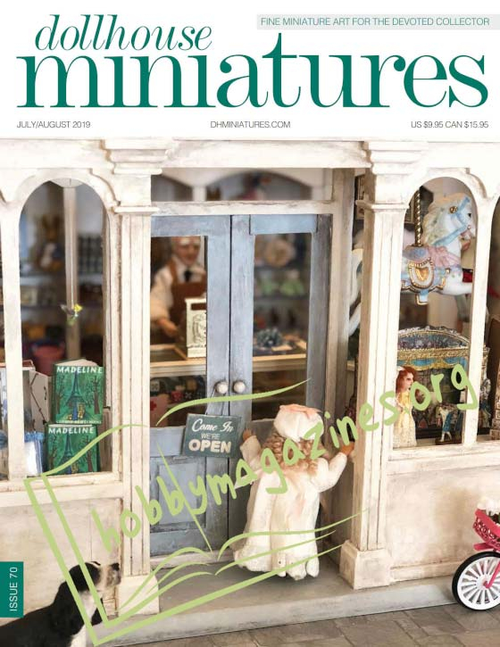 Dollhouse Miniatures 70 - July/August 2019