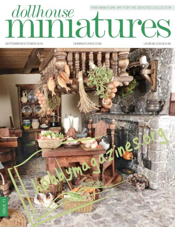 Dollhouse Miniatures 71 - September/October 2019