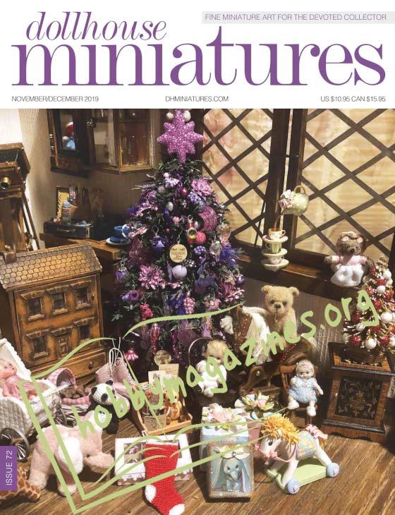 Dollhouse Miniatures 72 - November/December 2019