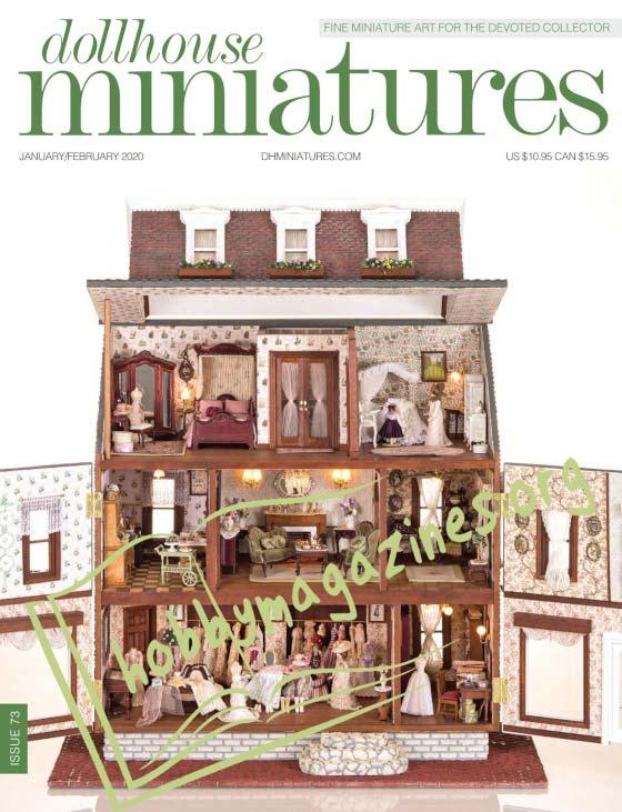 Dollhouse Miniatures 73 - January/February 2020