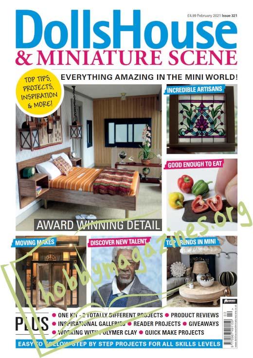 Dolls House & Miniature Scene - February 2021