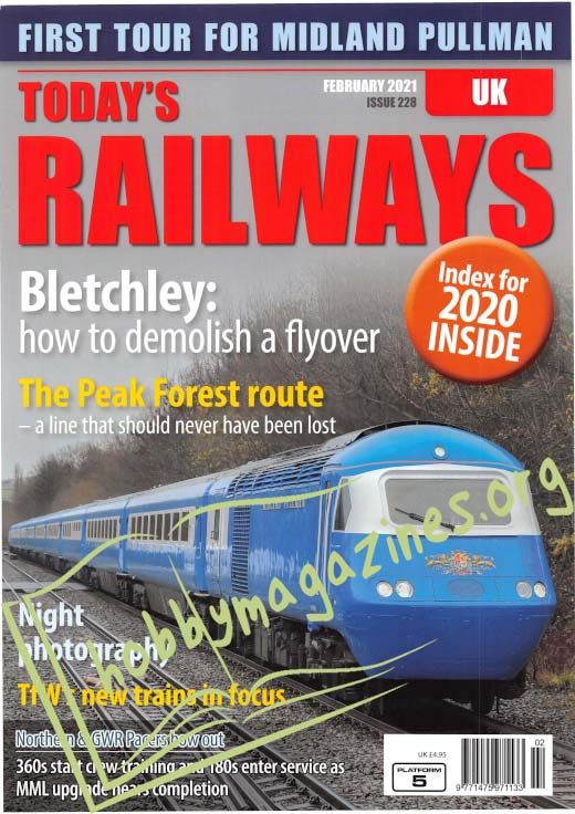 Today's Railways UK - February 2021