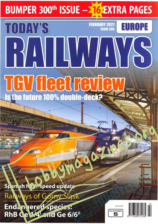Today's Railways Europe - February 2021