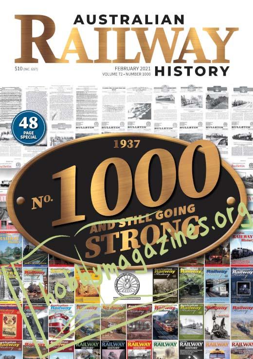 Australian Railway History - February 2021