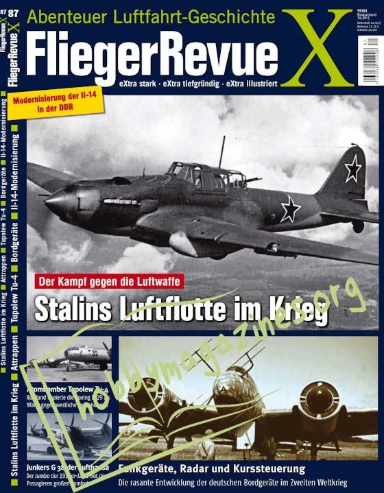 FliegerRevue X No 87, 2021