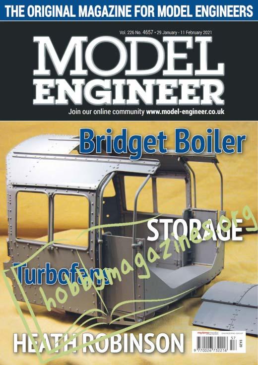 Model Engineer 4657 - 29 January 2021