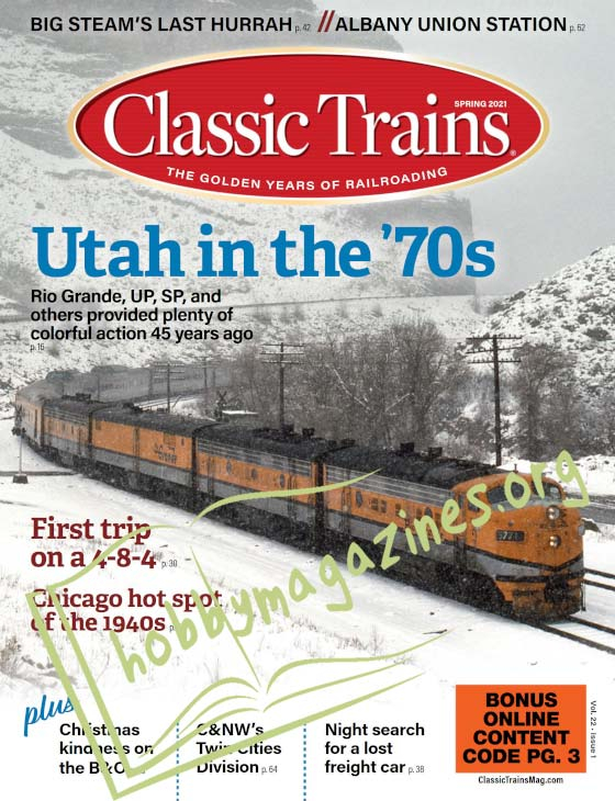 Classic Trains - Spring 2021