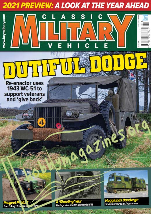 Classic Military Vehicle – March 2021