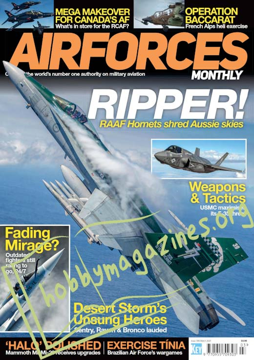 Air Forces Monthly - March 2021