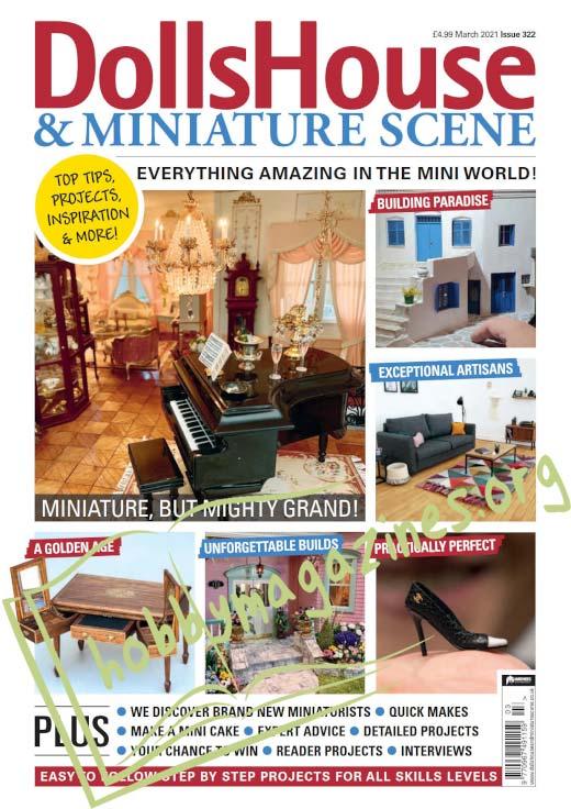 Dolls House & Miniature Scene - March 2021