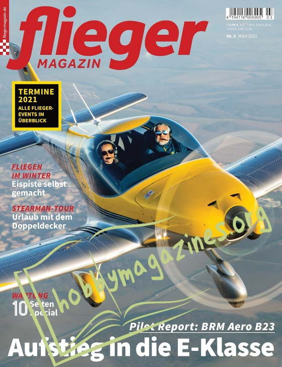 Fliegermagazin - Marz 2021