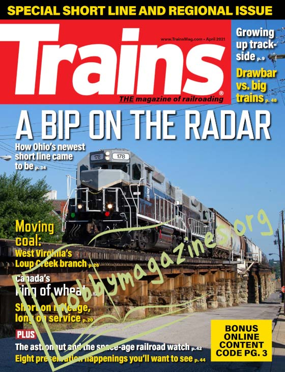 Trains - April 2021