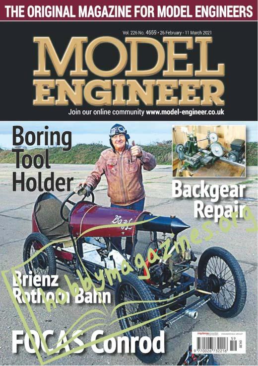 Model Engineer 4659 - 25 February 2021
