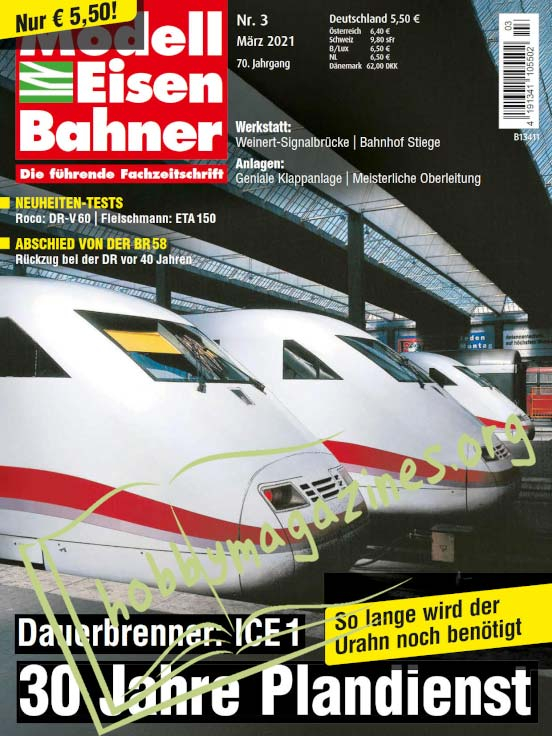 ModellEisenBahner - März 2021