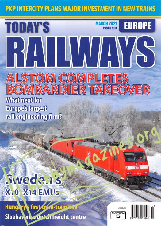 Today's Railways Europe - March 2021