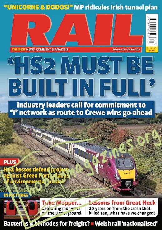 RAIL – 24 February 2021