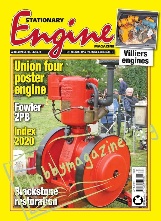 Stationary Engine - April 2021