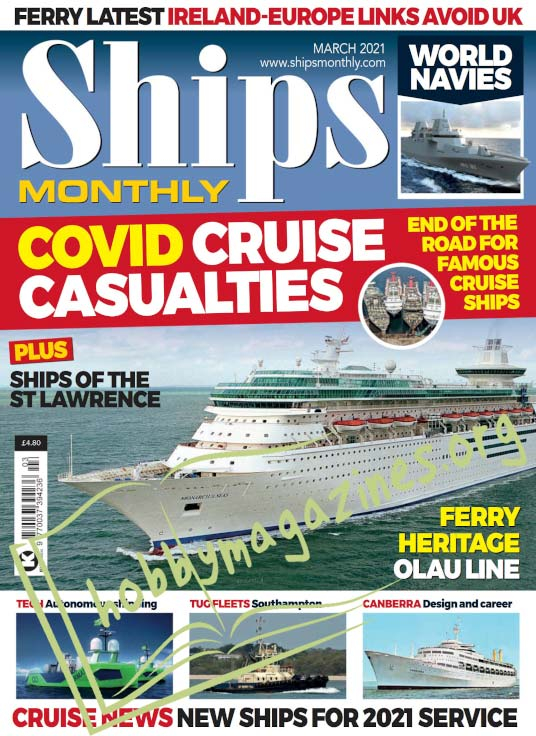 Ships Monthly – March 2021