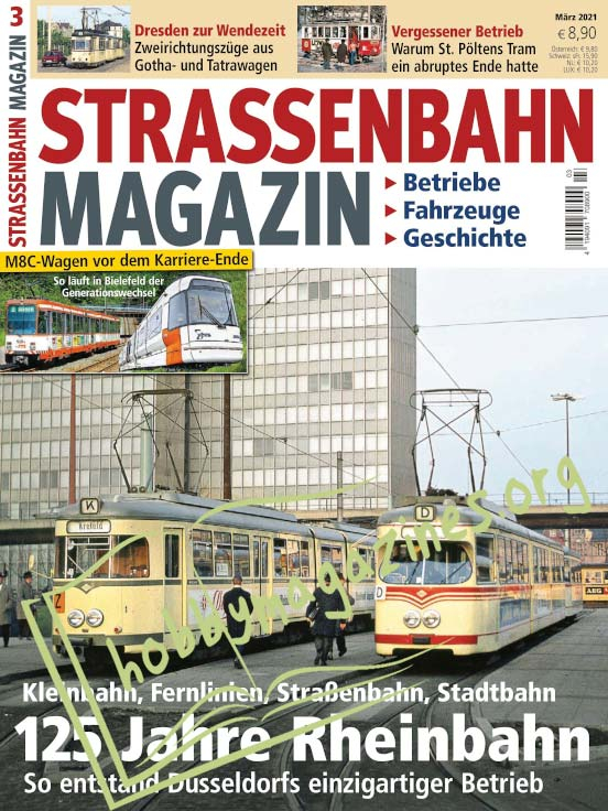 Strassenbahn Magazin – März 2021