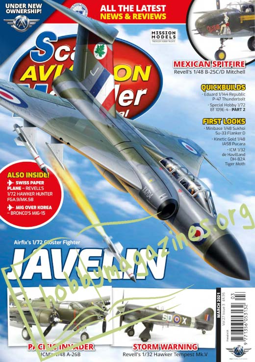 Scale Aviation Modeller International - March 2021